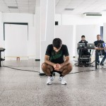 Produzione spettacolo ad AGON, ph Diego Ronzio